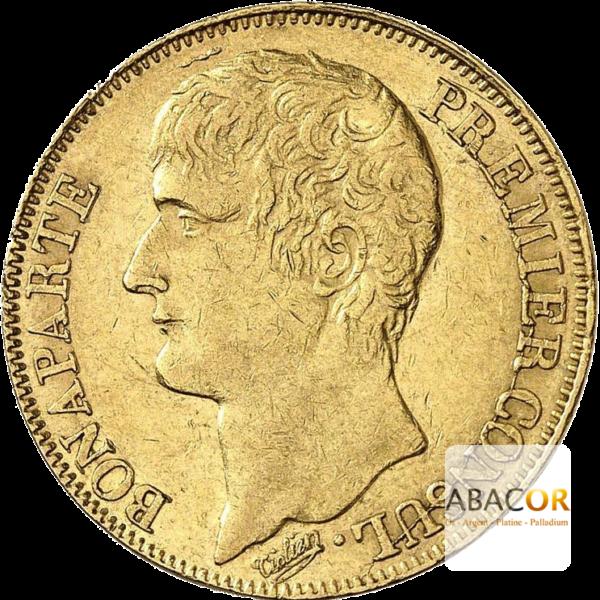 40 Francs Or Bonaparte Premier Consul