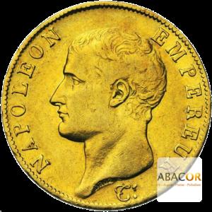 40 Francs Or Napoléon Tête Nue 1806