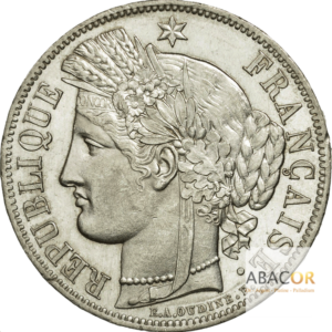5 Francs Argent Cérès IIème République