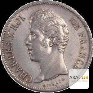 5 Francs Argent Charles X 2ème Type