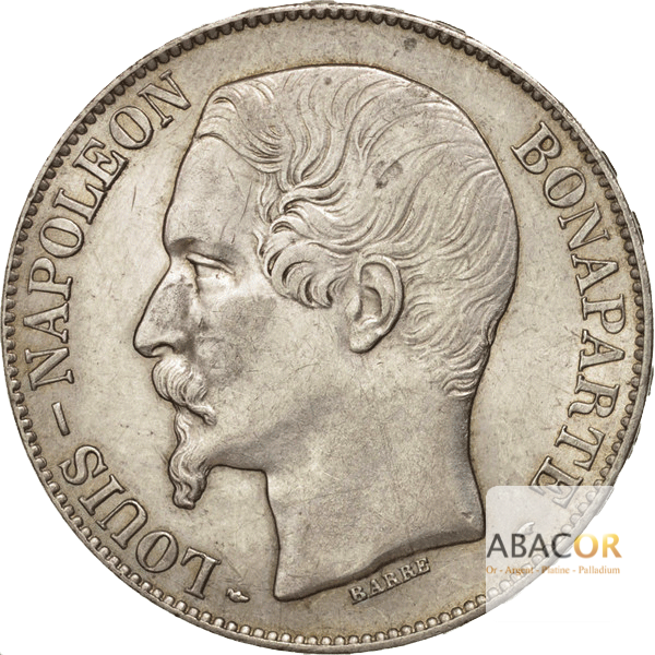 5 Francs Argent Louis-Napoléon Bonaparte