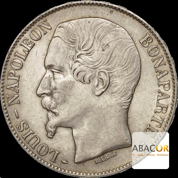 Pièce de 5 Francs Écu en Argent Avers