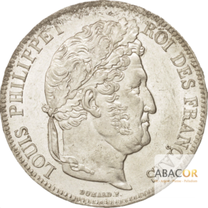 5 Francs Argent Louis-Philippe Ier Tête Laurée