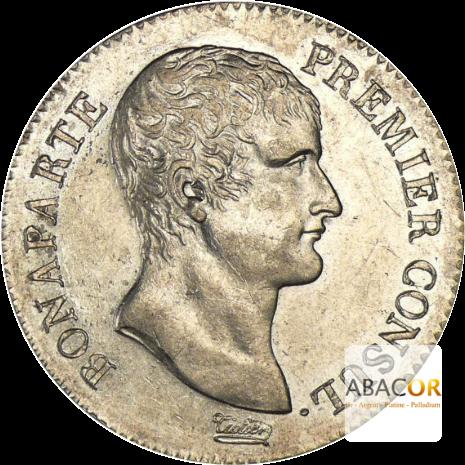 5 Francs Argent Bonaparte Premier Consul