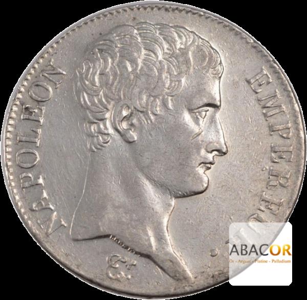5 Francs Argent Napoléon Ier An 13 et An 14