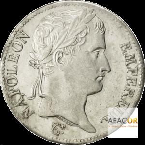 5 Francs Argent Napoléon Ier Lauré Revers Empire