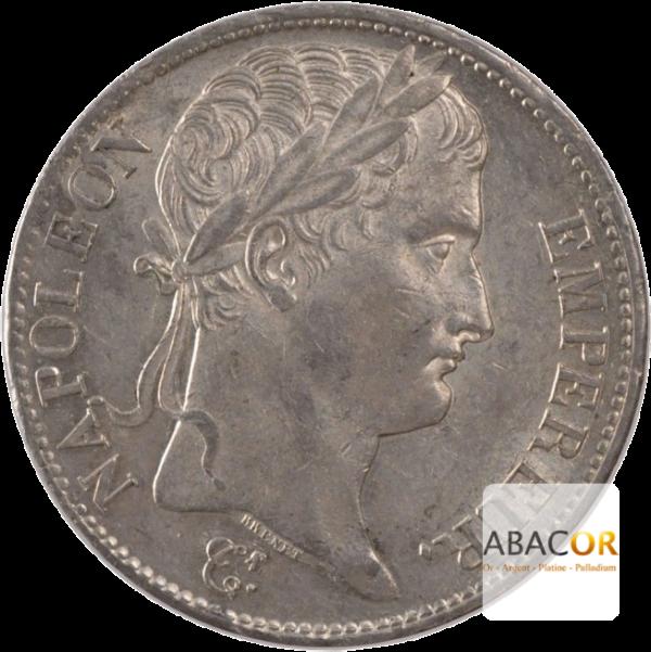 5 Francs Argent Napoléon Ier Lauré Revers République