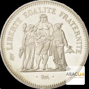 50 Francs Argent Hercule