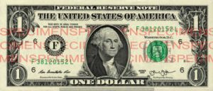 Billet 1 Dollar Etats-Unis USD