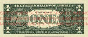 Billet 1 Dollar Etats-Unis USD