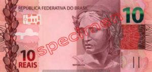 Billet 10 Real Bresil BRL Serie II recto