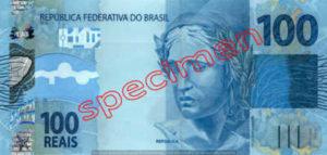 Billet 100 Real Bresil BRL Serie II recto