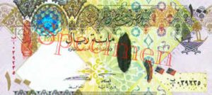 Billet 100 Riyal Qatar QAR Serie 2007 recto
