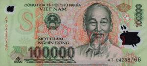 Billet 100000 Dong Vietnam VND recto