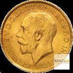 Souverain pièces d'or Georges V 1911 à 1925