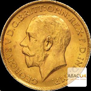 Souverain Or Georges V 1911 à 1925