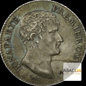1 Franc Argent Bonaparte Premier Consul