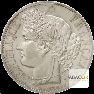 1 Franc Argent Cérès IIème République