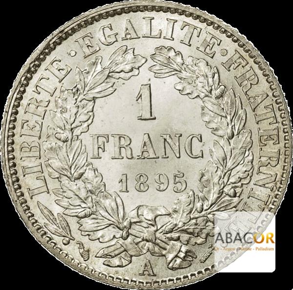 1 Franc Argent Cérès IIIème République
