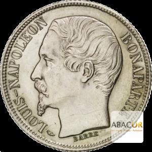 1 Franc Argent Louis-Napoléon