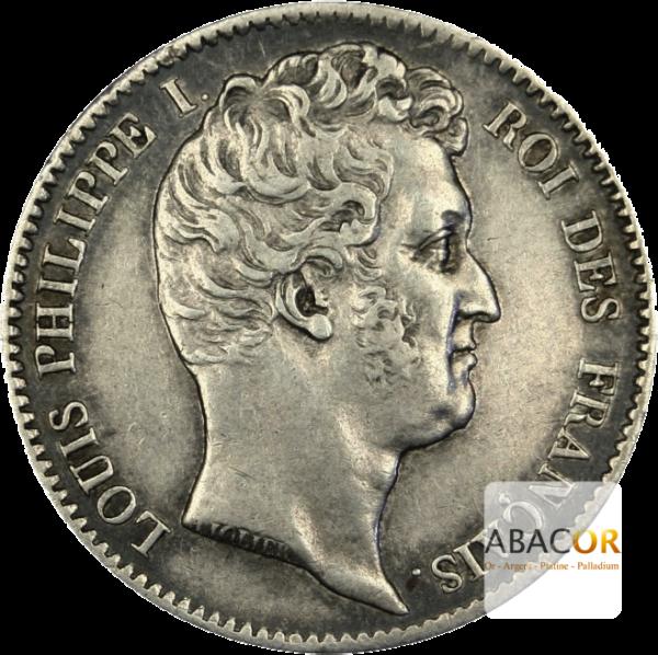 1 Franc Argent Louis Philippe Tête Nue