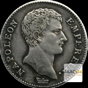 1 Franc Argent Napoléon Empereur 1806 - 1807