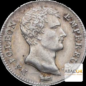 1 Franc Argent Napoléon Empereur An 12, An 13 et An 14