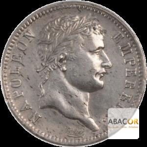 1 Franc Argent Napoléon Ier Tête Laurée Revers Empire