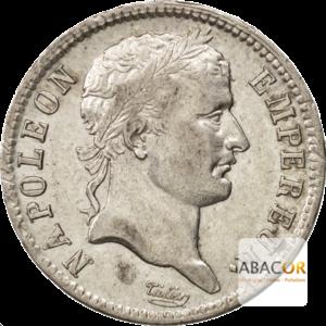 1 Franc Argent Napoléon Ier Tête Laurée Revers République