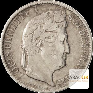 1/2 Franc Argent Louis-Philippe Ier