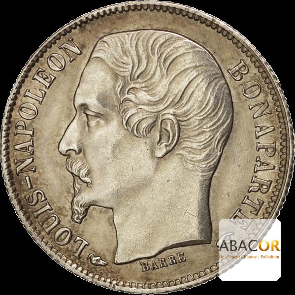 50 Cent Argent Louis-Napoléon Bonaparte