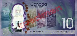 10 Dollars Canadiens