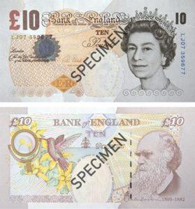 10 Livres Sterling Serie V
