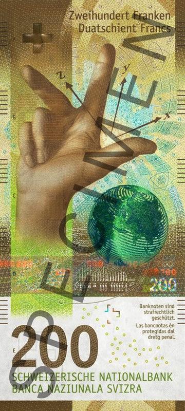 200 Francs Suisse 2018