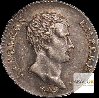 Demi Franc Argent Napoléon Empereur An 12, An 13 et An 14