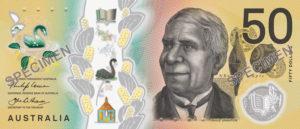 Billet 50 Dollar Australien