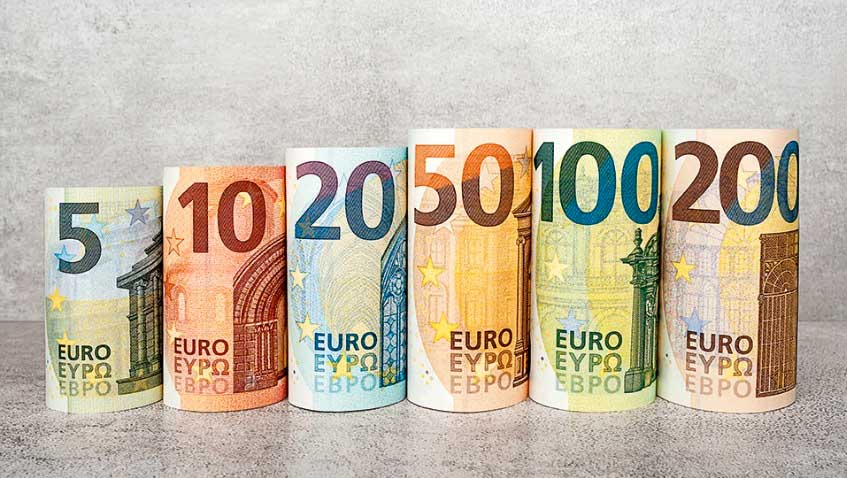Billets Euros Série Europe