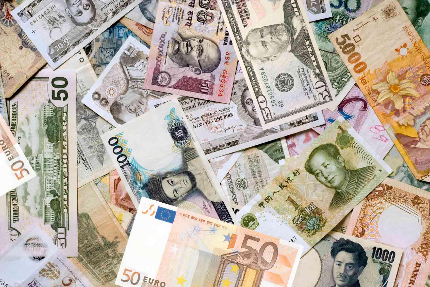 Bureau de change de devises