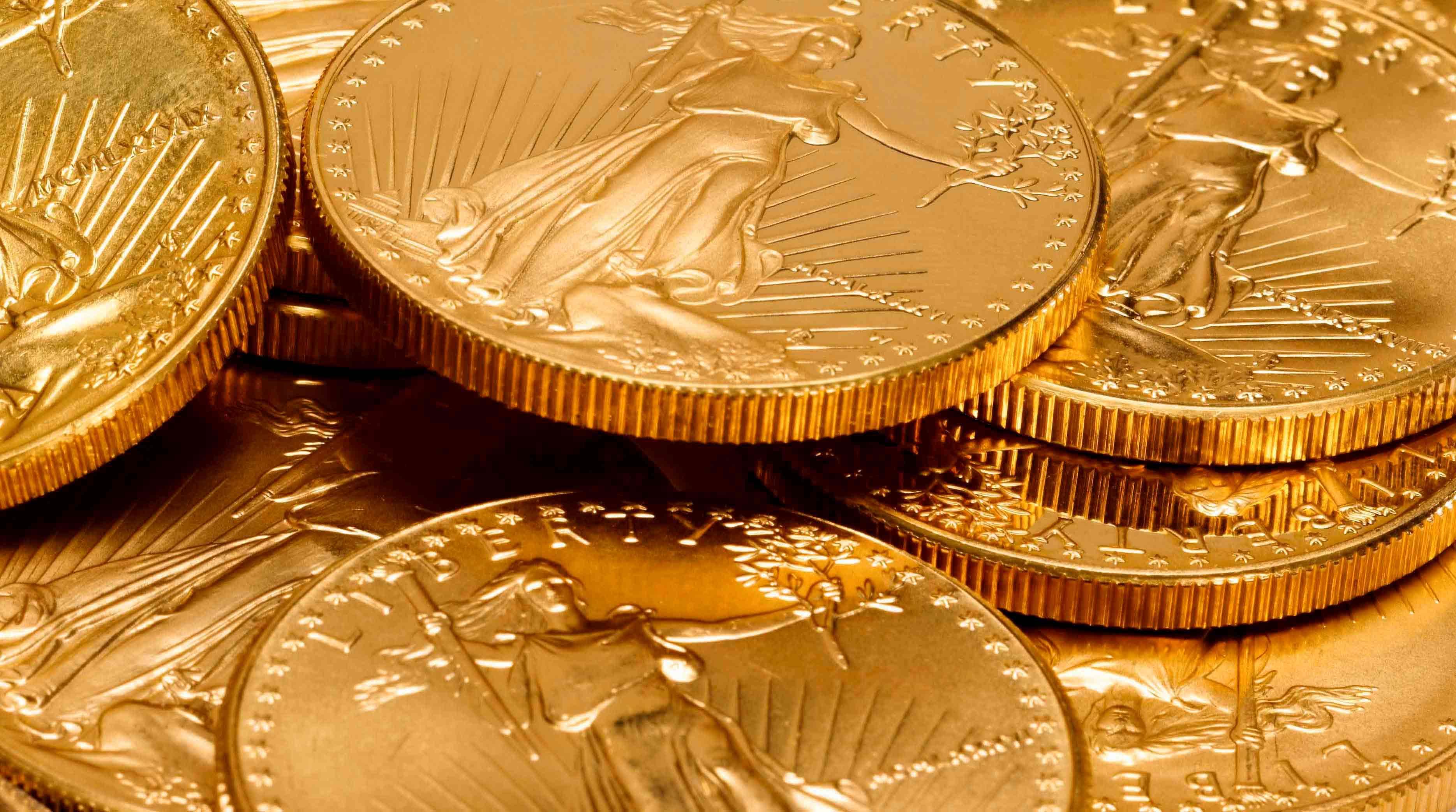 Nettoyer une pièce d'or