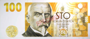 Billet 100 Couronnes Rep Tcheque CZK 2018 2 recto