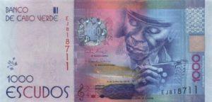 Billet 1000 Escudos Cap Vert CVE 2015 recto