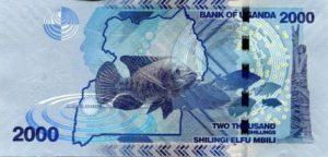 Billet 2000 Shillings Ouganda UGX verso