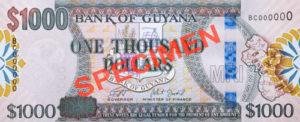 billet-1000-dollars-guyaniens-guyane-GYD-recto