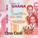 Billet 1 Cedis Ghaneens Ghana GHS 2019 recto