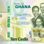 Billet 10 Cedis Ghaneens Ghana GHS 2019 recto