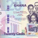 Billet 20 Cedis Ghaneens Ghana GHS 2019 recto