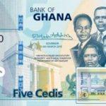 Billet 5 Cedis Ghaneens Ghana GHS 2019 recto