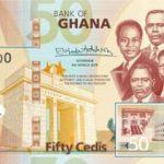 Billet 50 Cedis Ghaneens Ghana GHS 2019 recto