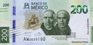 Billet 200 Pesos Mexique MXN 2019 recto