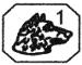 poinçon platine tête de chien 1